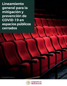 Lineamiento general para la mitigación y prevención de COVID-19 en espacios públicos cerrados